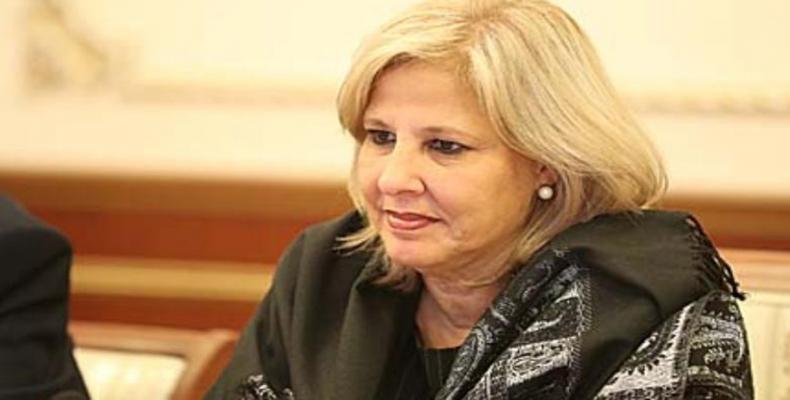 Ana Teresita González, viceministra primera del Ministerio de Comercio Exterior y la Inversión Extranjera de Cuba (Mincex)