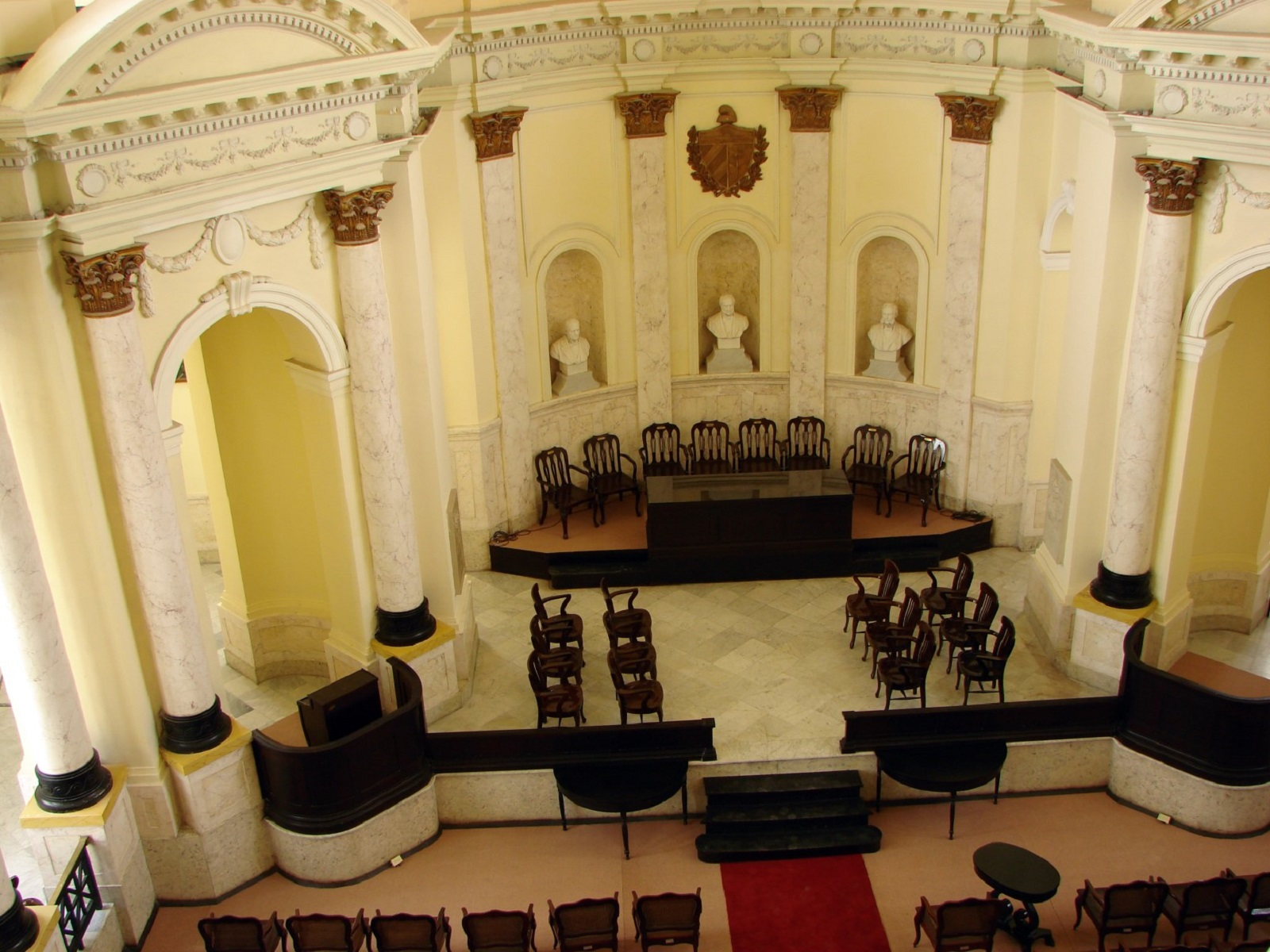 Paraninfo de la Sede de la Academia de Ciencias de Cuba