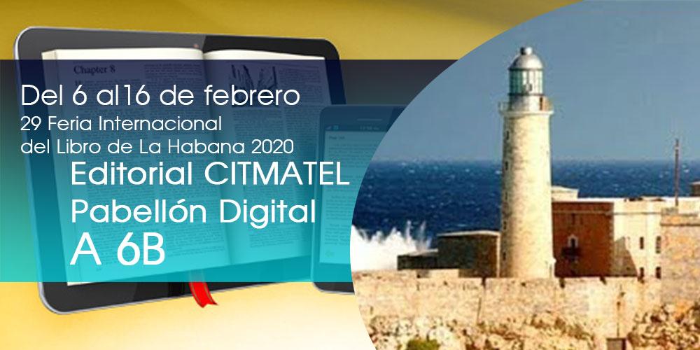 Editorial Citmatel en FILCuba 2020