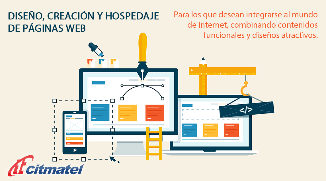 Diseño, creación y hospedaje de páginas web