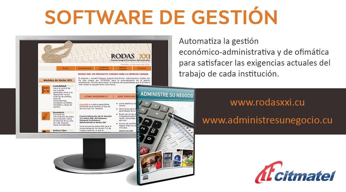 Software de gestión Rodas XXI