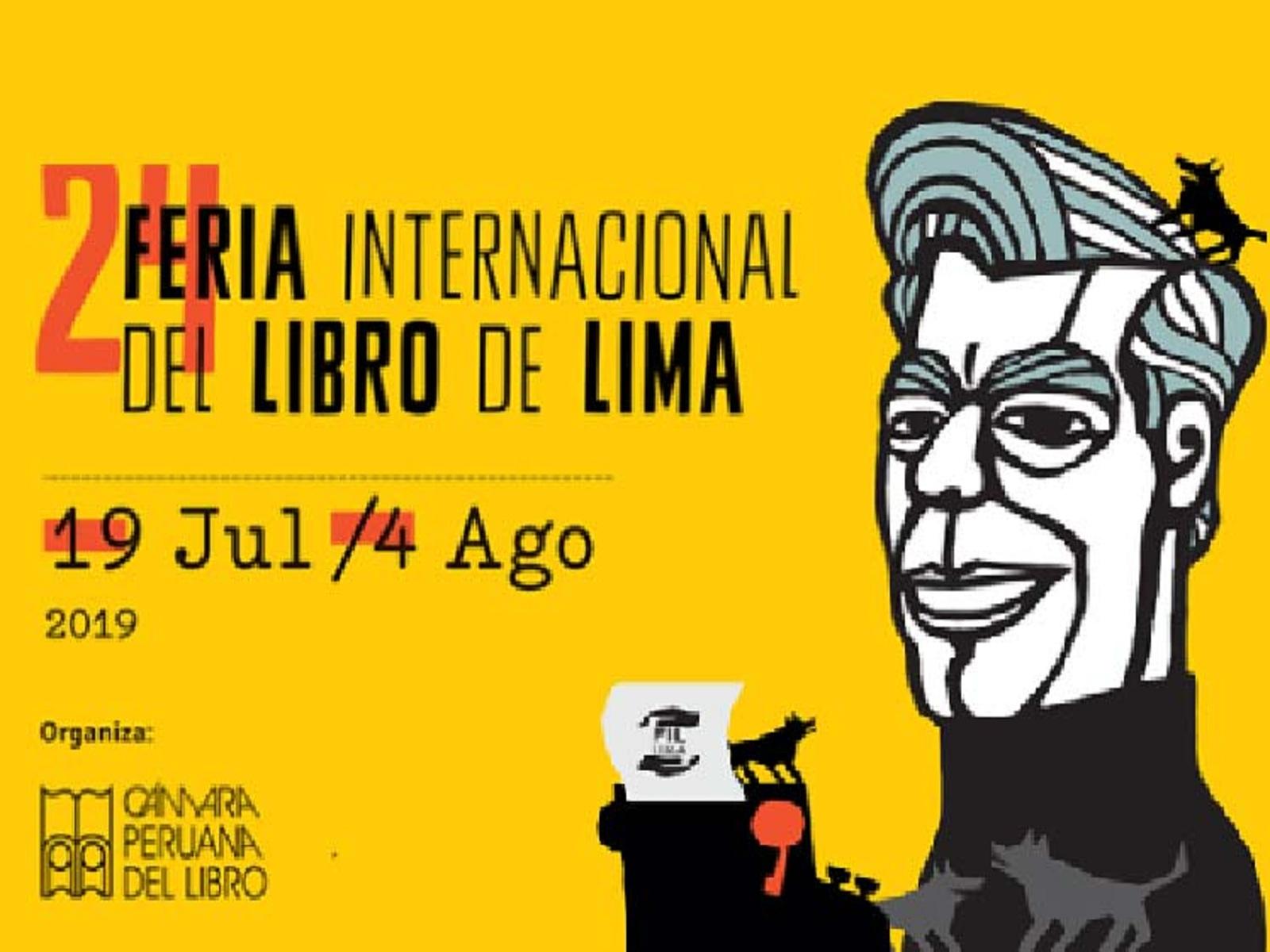 Cartel de la Feria del Libro de Perú
