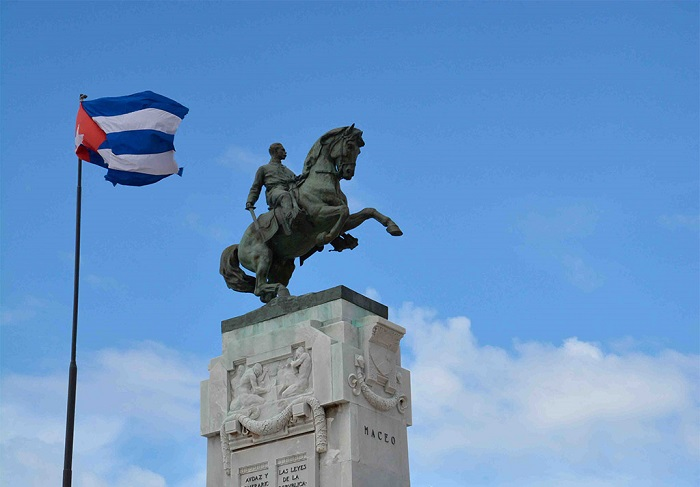 El legado maceíco nos sirve igualmente para fortalecer nuestros ideales patrios de independencia y soberanía. (Yaciel Peña de la Peña / ACN)