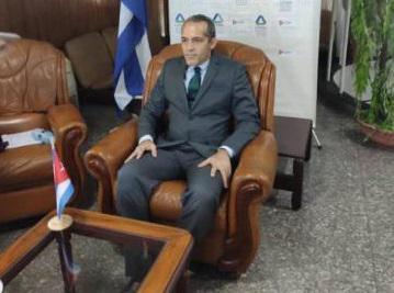 Viceministro de Ciencia, Tecnología y Medio Ambiente de Cuba, Armando Rodríguez Batista