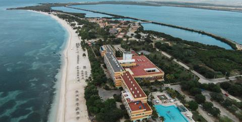 Un paraíso frente al mar Caribe. Foto: Archivo