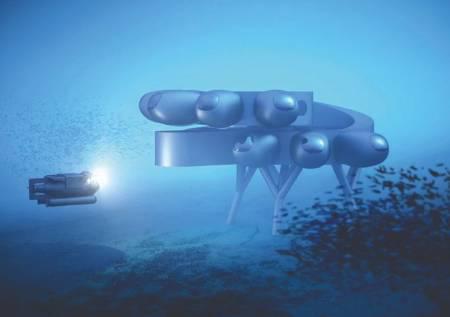 Proteus sería la primera gran base submarina diseñada para que los seres humanos pasen mucho tiempo estudiando los océanos. Autor: Tomado de Internet