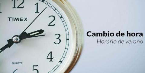 Entra en vigor el horario de verano desde el próximo domingo