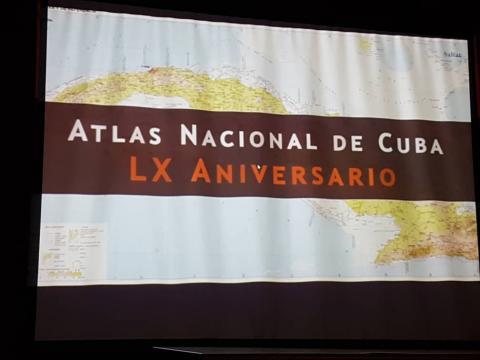 Atlas Nacional de Cuba LX Aniversario