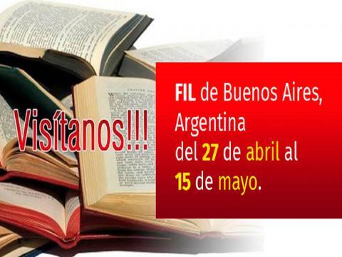 Banner Feria del libro en Argentina