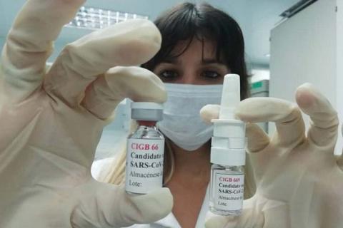 Vacuna nasal anti-Covid-19 de Cuba cierra ciclo corto de ensayo