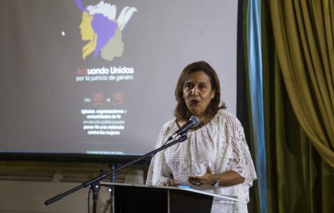Elba Rosa Pérez Montoya, titular de Ciencia, Tecnología y Medio Ambiente. Foto: Irene Pérez/ Cubadebate.