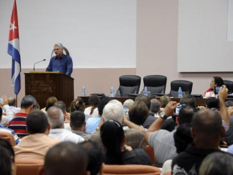 Miguel Díaz-Canel Bermúdez Foto: Estudios Revolución
