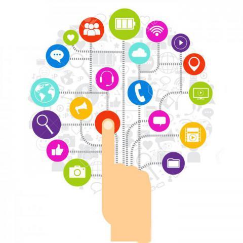 La informatización de la sociedad se realiza para dinamizar los procesos que se ejecutan en el mundo real, posibilitando su gestión, utilizando las TIC . Foto: Ilustrativa