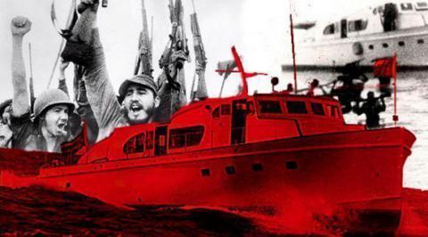 Como en el Granma, Fidel sigue siendo faro y guía