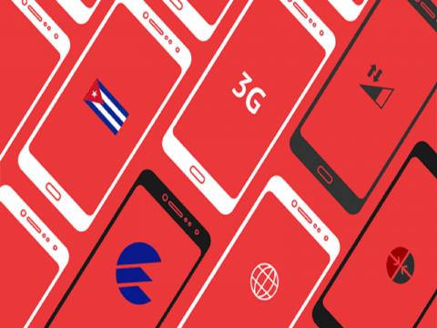 Desde este 6 de diciembre estará disponible el servicio de internet a través de los datos móviles. Infografía: Edilberto Carmona/ Cubadebate