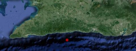 Reportan sismo perceptible en las provincias de Santiago de Cuba y Granma