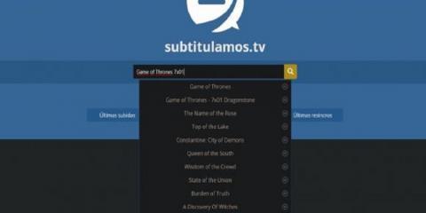 Principales webs para encontrar subtítulos