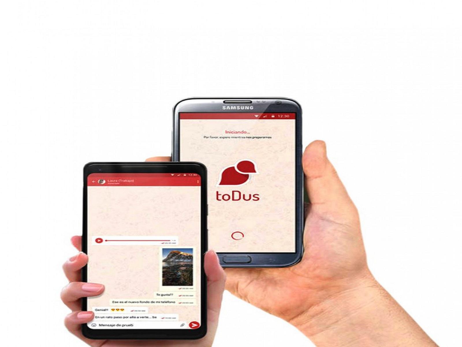 toDus es una aplicación que brinda frescura al panorama digital nacional.